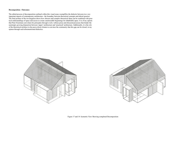 Visual eisenman 39 s decomposition and the new zealand state house a visual essay angus earl - The house of clicks the visual experiment of swedish architects ...